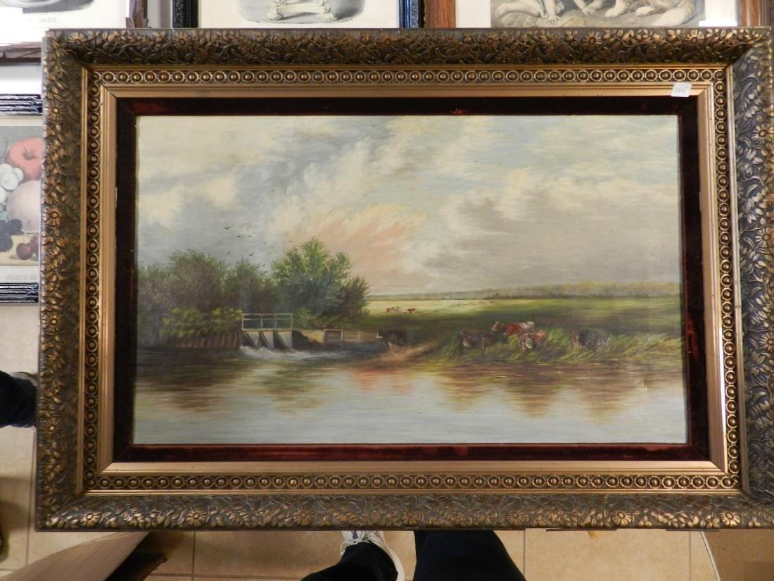 Oil On Canvas Landscape Painting