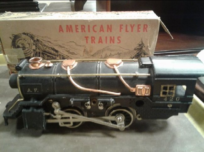 Early 1900's American Flyer super Train Set