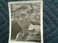 (7)Rare U. S. Army Elvis Presley Photo