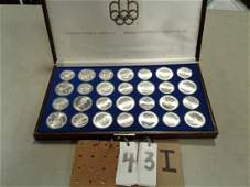 1976 Proof Canadian Montreal Olympic Games Coin Set