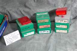 Assorted Reloading Die Sets  Lee Shell Holders