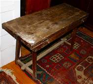 Late 18th or early 19th century solid walnut Cobbler's