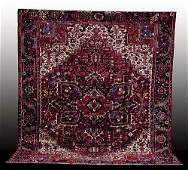 326 Antique Persian Heriz carpet circa 1925