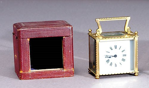 1008: Victorian carriage clock