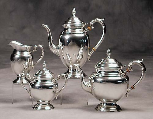 458: International sterling tea and coffee service  20t