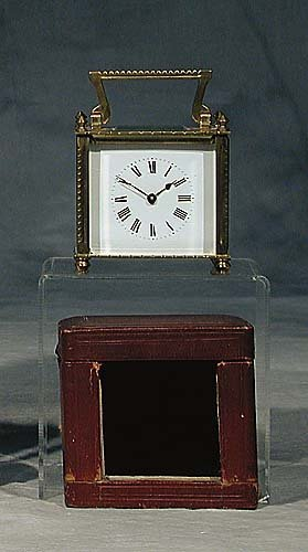 16: Victorian carriage clock