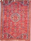 365: Antique Persian Afshar carpet