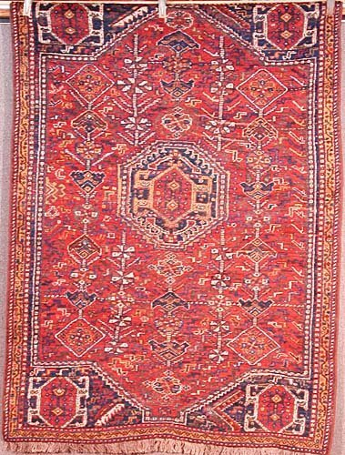 365: Antique Persian Afshar carpet
