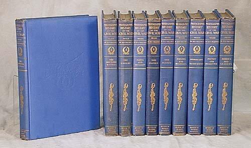 400: 10 vols. books: History of the Civil War