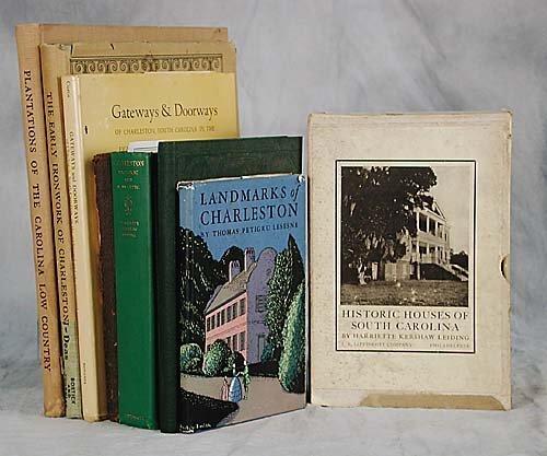 401: 8 vols. books: Charleston titles