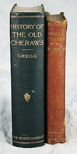 407: 2 vols. books: History of the Old Cheraw