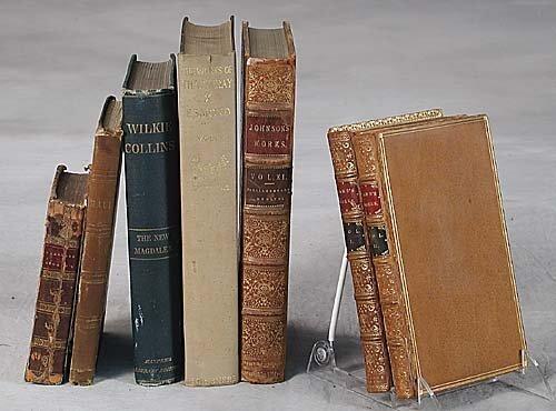 411: 33 vols. books: Various English authors