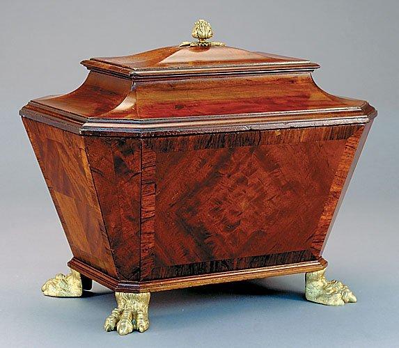 7: Georgian mahogany cellarette