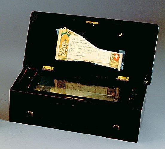 19: Swiss cylinder music box