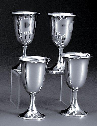 508: Eight American sterling goblets by Preisner