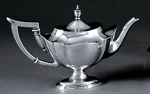 514: Gorham sterling teapot