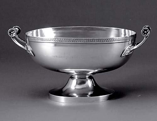 521: Gorham silverplate centerbowl