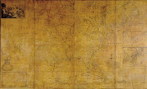563: Early Map of North America