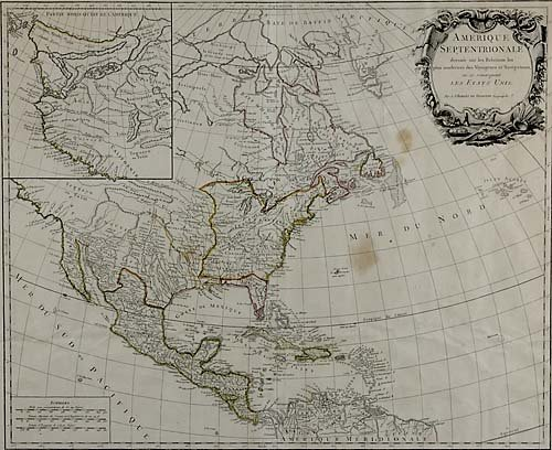 564: Early map of North America