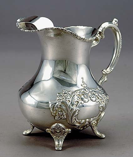 6: American sterling beverage pitcher, Poole Silver Co.