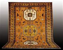 191 Antique Persian Heriz carpet