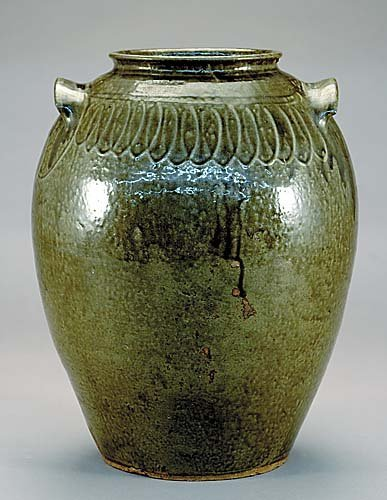 501: Edgefield District stoneware storage jar, Thomas C