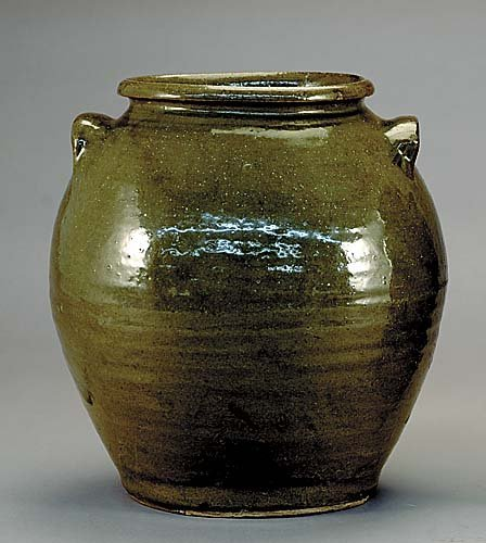 504: Edgefield District stoneware storage jar, attribut