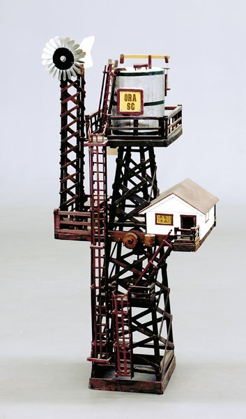 523: Southern folk art tower, by Roger Hunter