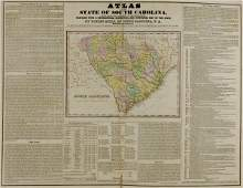 653: Book: Rare atlas by Robert Mills