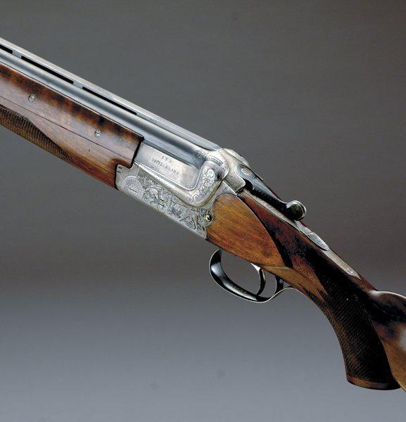 1004: Merkel Superposed model 202E 12-bore sporting gun