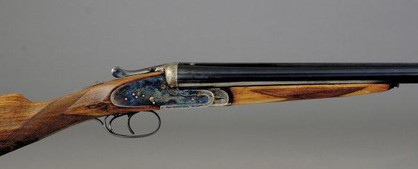 1005: Victor Sarasqueta 12-bore SxS shotgun, SNAM112506