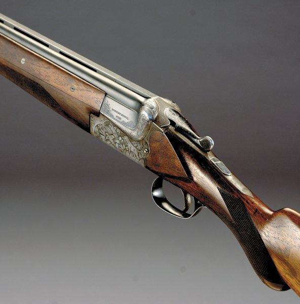 1006: Merkel Superposed model 202E 12-bore sporting gun