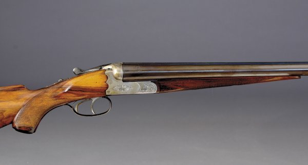 1010: A. Sommerda 12-bore boxlock ejector SxS sporting