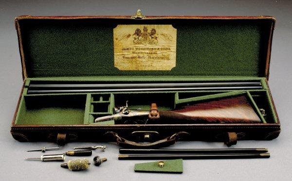 1018: Daniel Fraser 12-bore backlock hammergun, SN1780