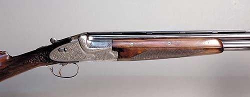1004A: Merkel 12 gauge over & under shotgun, SN 36452