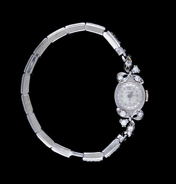 2007: Hamilton diamond lady's wristwatch