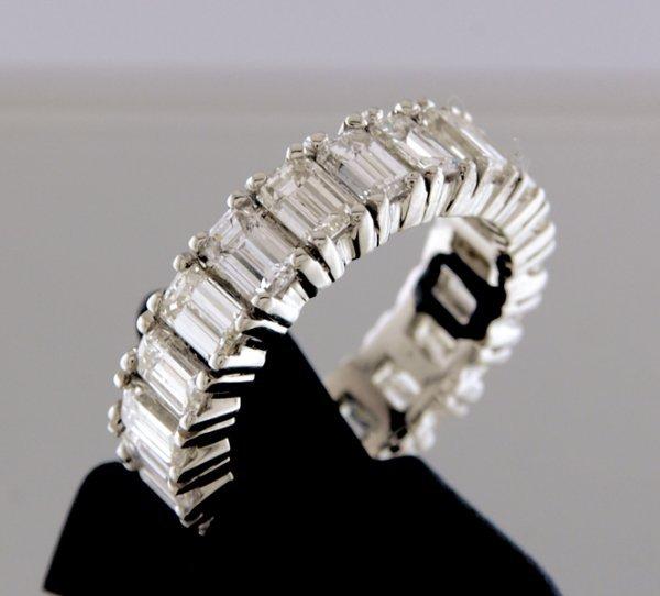 2016: Platinum and diamond eternity ring