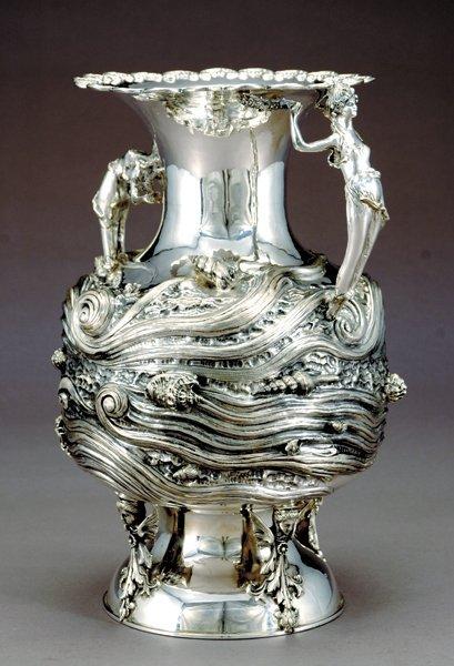 2086: Impressive sterling urn