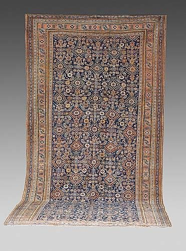 323: Antique Afshar carpet circa 1880