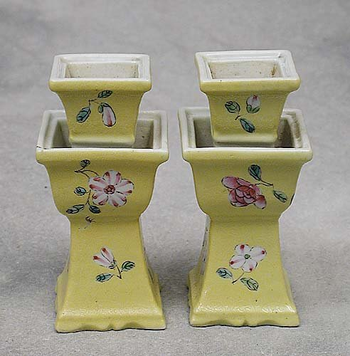 083: Pair Chinese Export candlesticks  Date: