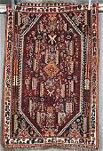 149A: Semi-antique Persian Afshar carpet Da