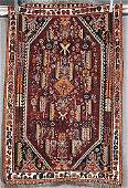 149A Semiantique Persian Afshar carpet  Da