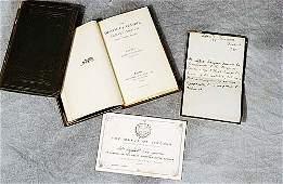 169: 2 vols. books: Lord Tennyson and documen