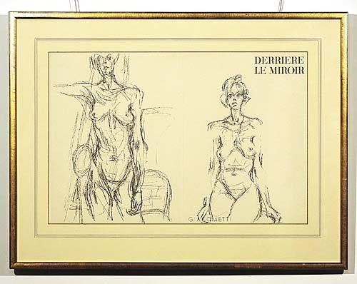 004: Giacometti Swiss/French school (20th century)