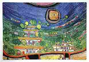 007: Hundertwasser, Friedensreich Austrian (1928-2000)