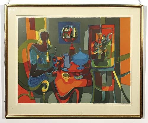009: Mouly, Marcel French (b. 1918)