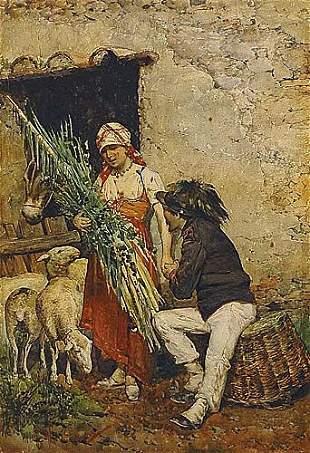 017: Fasce, Franco Italian (fl. 1880)