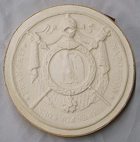 2: Collection six antique plaster intaglios l