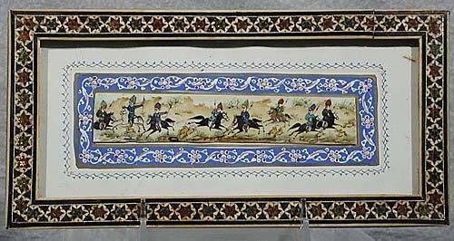 21: Mideastern miniature 20th century WARRIOR