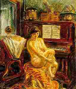 106: Sloan, John American, NY (1871-1951) NUD
